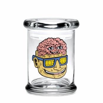 420 Science Pop Top Stash Jar Small Teen Lobotomy