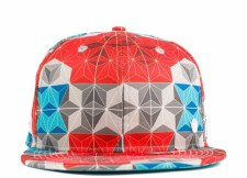 Geoprismic Snapback Hat