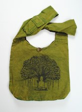 Green Tree of Life Shoulder Bag