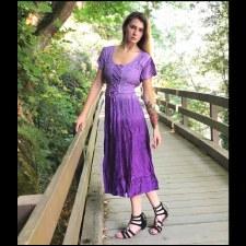 Corset Dress Purple