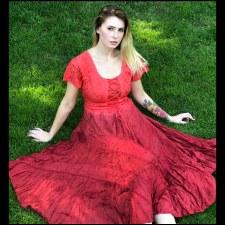Corset Dress Red