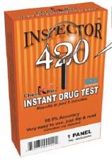 420 Inspector THC Test Panel