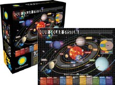 1,000 Piece Smithsonian Our Solar System Jigsaw Puzzle