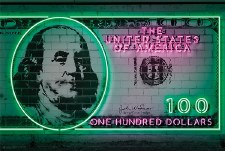 100 Dollars Poster