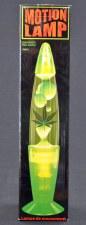 Hemp Leaf Lava Lamp