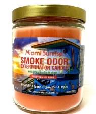 13oz Smoke Exterminator Candle Miami Sunrise