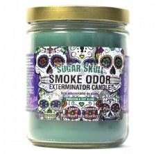 13oz Smoke Exterminator Candle Sugar Skull