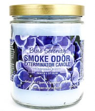 13oz Smoke Exterminator Candle Blue Serenity
