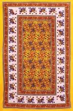 Yellow Elephants Tapestry