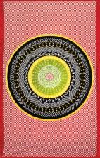 Indian Rasta Circle Tapestry
