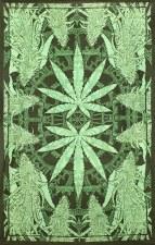 Hempest Marijuana Leaf Tapestry