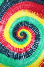 Rasta Spiral Tie Dye Tapestry