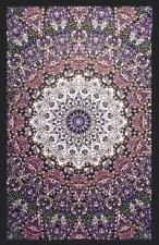Glow in the Dark India Star Purple Tapestry