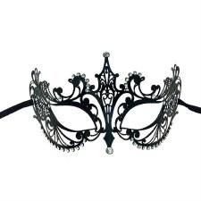 Metal Venetian Half Mask
