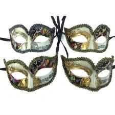 Venetian Half Face Mask