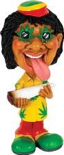 Lick It Jamaican Bobble Head