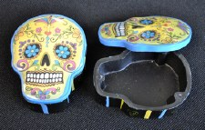 Yellow Day of the Dead Box