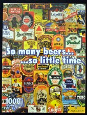 So Many Beers So Little Time Jigsaw Puzzle