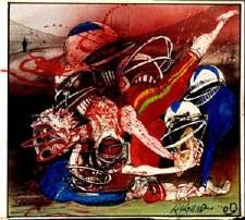 Ralph Steadman Killer Sport Poster