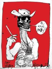 Ralph Steadman OK, Let's Party Poster