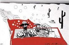 Ralph Steadman Fear & Loathing Poster