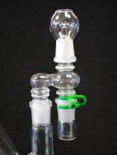 18mm Male Oil Rig 90 Degree Reclaimer Set
