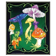 Mushrooms Tapestry