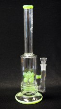 Slime Barrel InLine to Double Cross Diffused Water Pipe