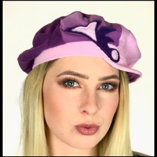 Recycled Hat Purp Walk
