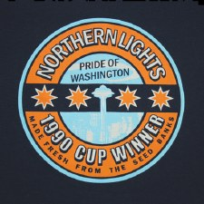 Northern Lights T-Shirt Small