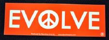 Evolve Peace Sticker