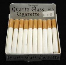 Large Quartz Glass CIgarette Bat