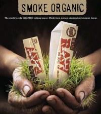 Raw 1 1/4 Organic Hemp Rolling Papers w Tips