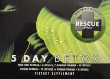 Rescue Detox 5 Day Permanent Detox