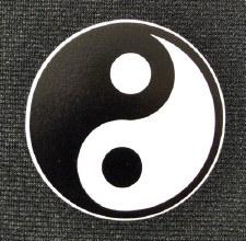 """3"""" Yin & Yang Sticker"""