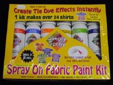 Spray on Fabric Paint Kit