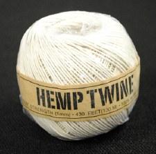 20lb Test White Hemp Twine