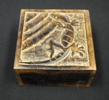 "5x5"" Mango Wood Lizard Box"