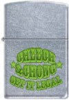 Cheech & Chong Zippo Lighter Get it Legal