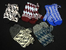 Wool Knit Mittens