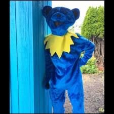 Grateful Dead Costume Blue