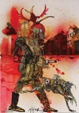 Hell Hound Fahrenheit 451 Poster