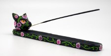 Black Cat Incense Burner