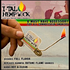 I-Tal Hempwick 16.5ft Pack