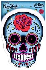 Rose Sugar Skull Sticker
