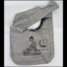 Gray Print Bag Buddha