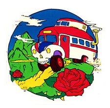 Skull Bus in Mountains