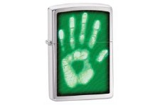 Green Palm Identity Zippo Lighter