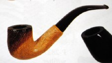 Rough Wood Traditional Pipe
