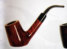 Angular Sherlock Wood Pipe
